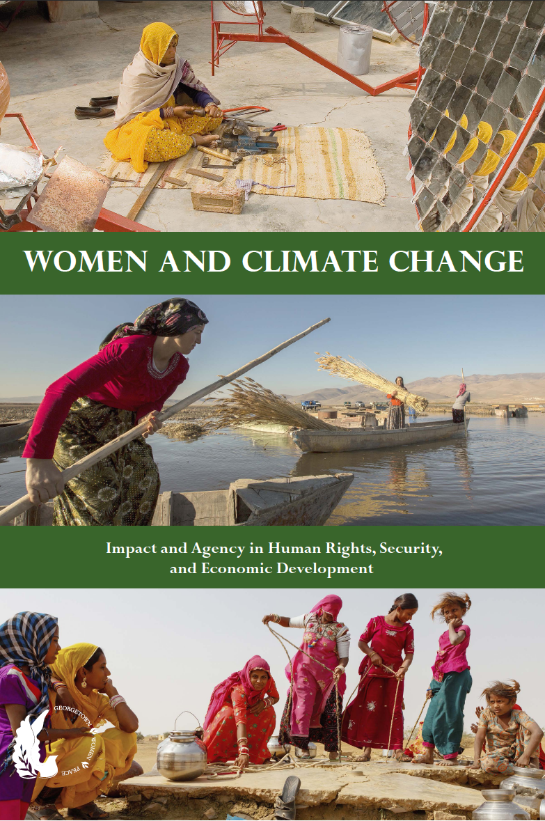 Women and Climate Change pdf cover